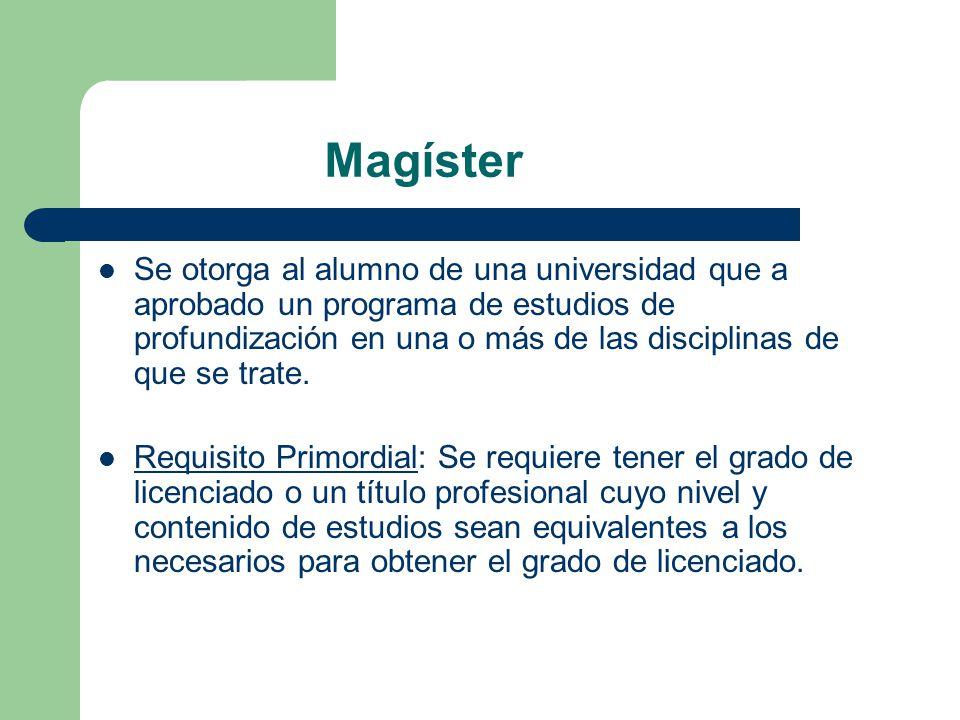 Magíster