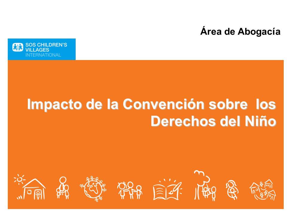 Impacto de la Convención sobre los Derechos del Niño