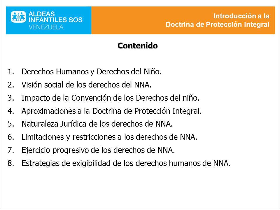 Derechos Humanos y Derechos del Niño.