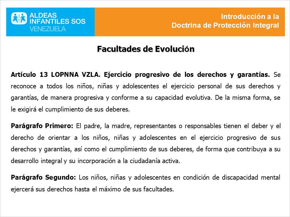 Facultades de Evolución