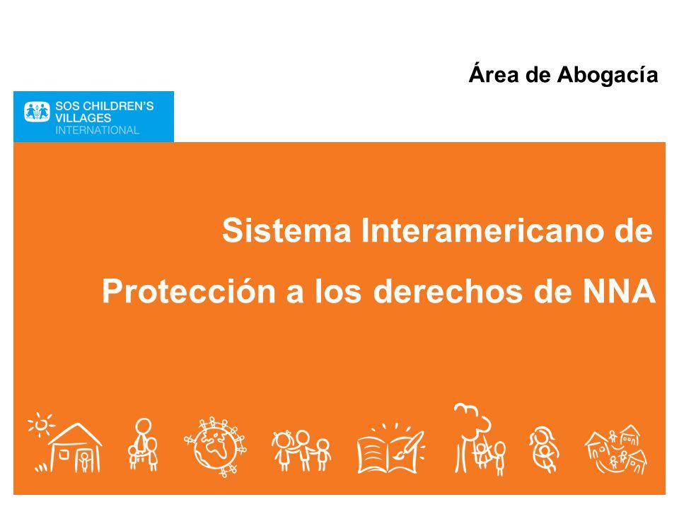Sistema Interamericano de Protección a los derechos de NNA