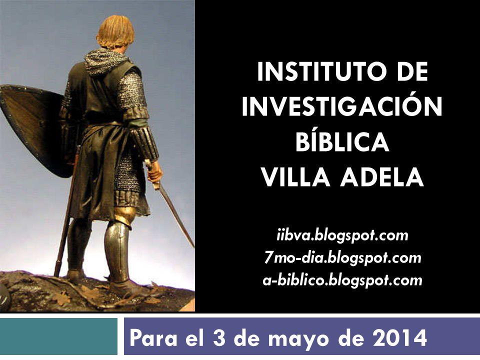 INSTITUTO DE INVESTIGACIÓN BÍBLICA VILLA ADELA iibva. blogspot