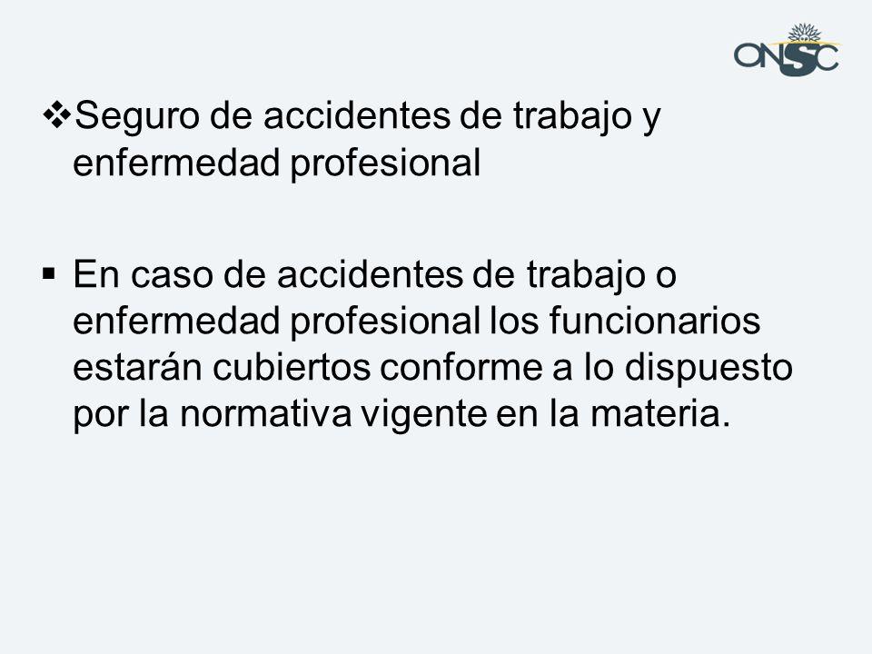 Seguro de accidentes de trabajo y enfermedad profesional