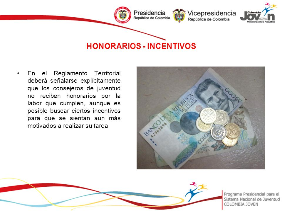 HONORARIOS - INCENTIVOS