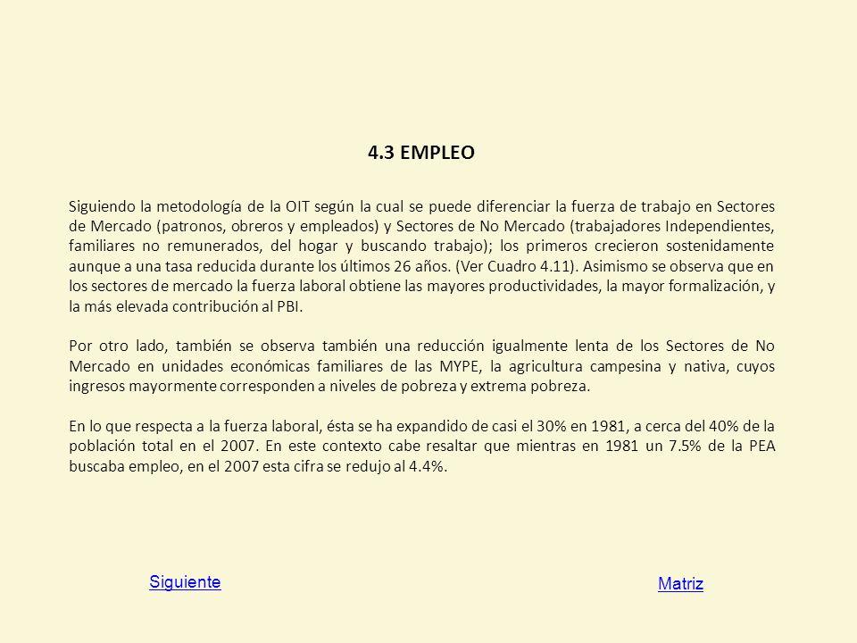 4.3 EMPLEO
