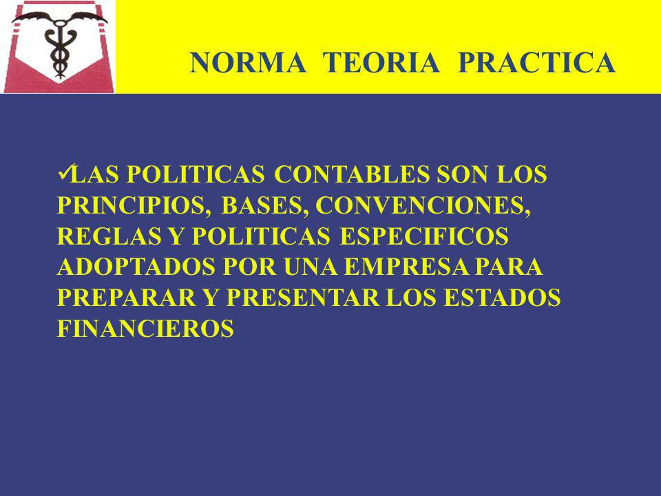 NORMA TEORIA PRACTICA