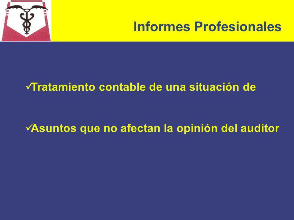 Informes Profesionales
