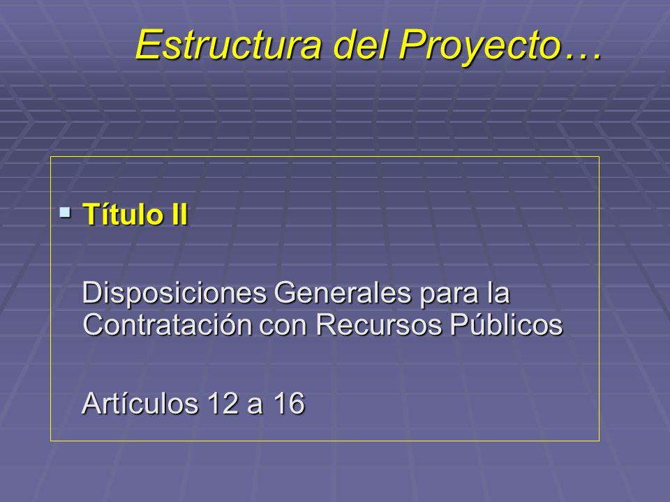 Estructura del Proyecto…