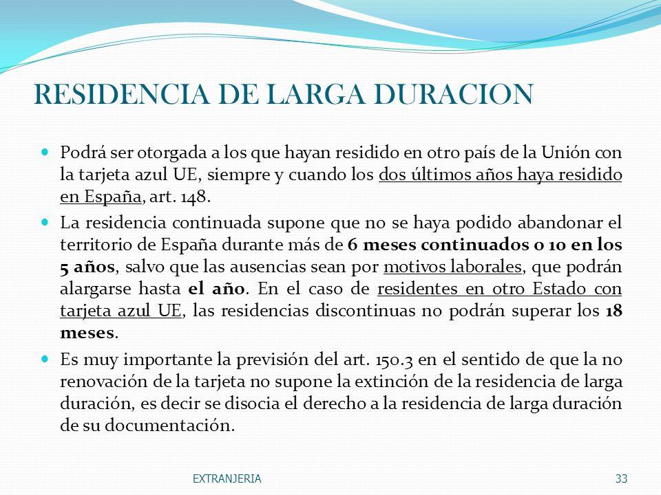 RESIDENCIA DE LARGA DURACION