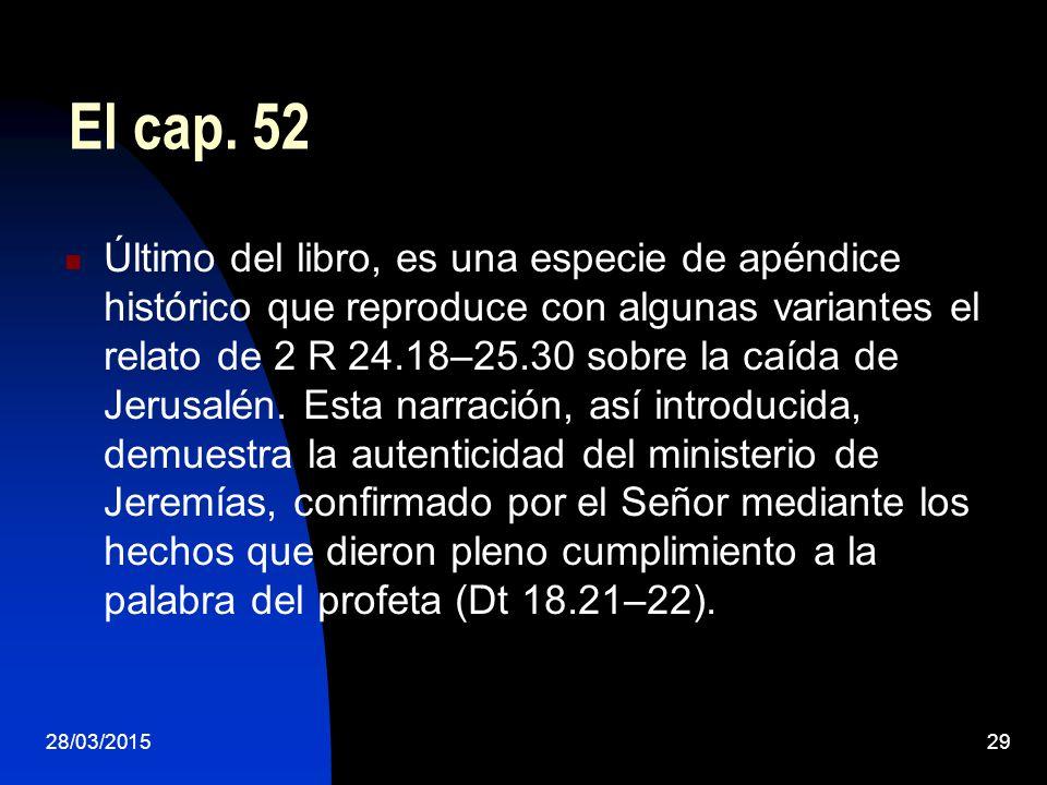 El cap. 52