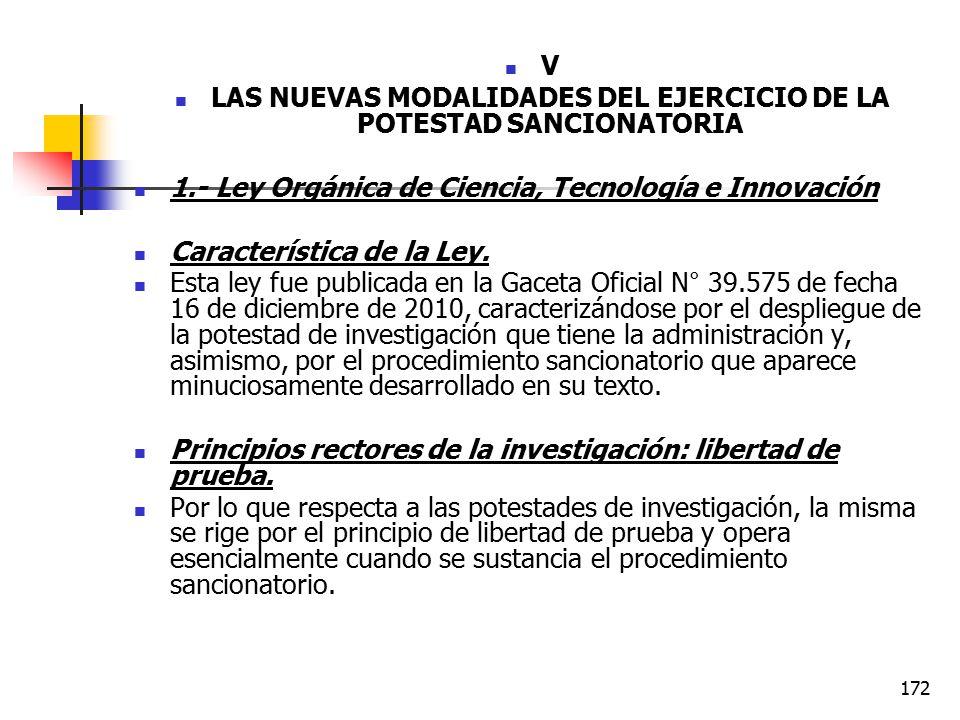 LAS NUEVAS MODALIDADES DEL EJERCICIO DE LA POTESTAD SANCIONATORIA
