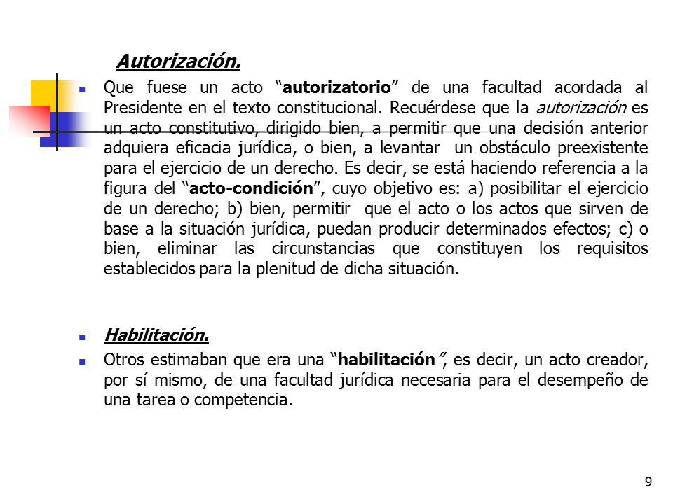 Autorización.