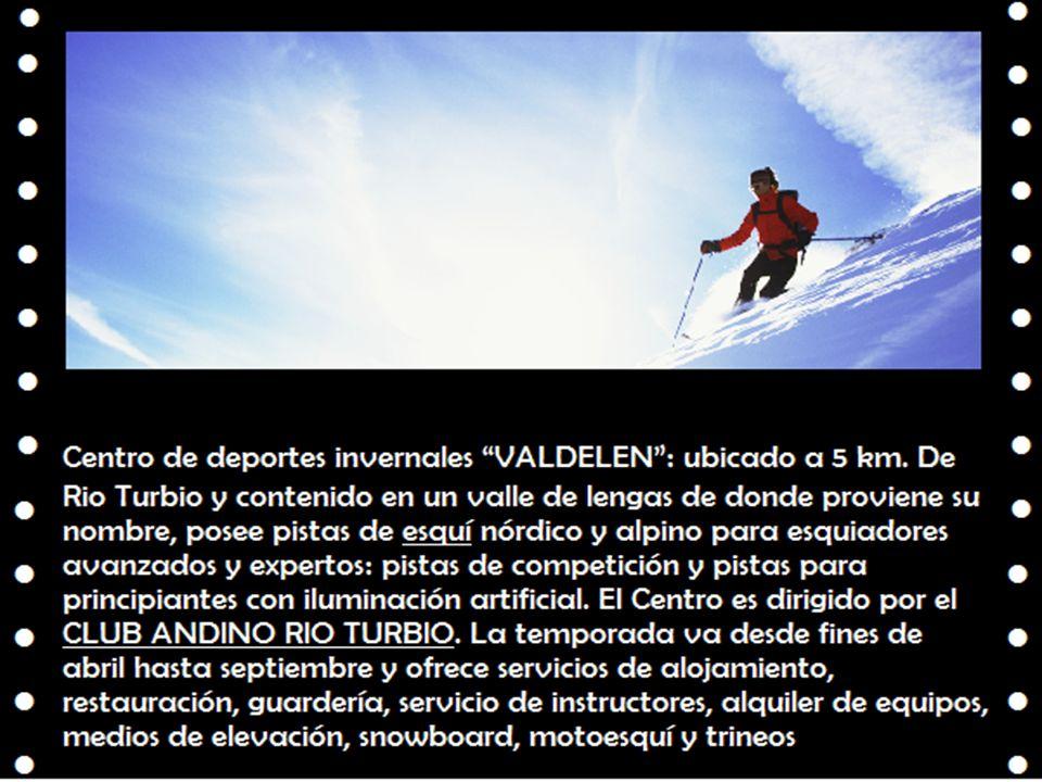 Centro de deportes invernales VALDELEN : ubicado a 5 km