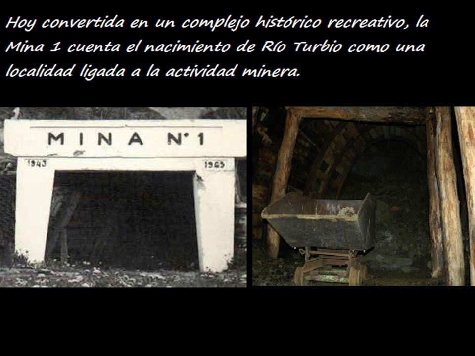Hoy convertida en un complejo histórico recreativo, la Mina 1 cuenta el nacimiento de Río Turbio como una localidad ligada a la actividad minera.