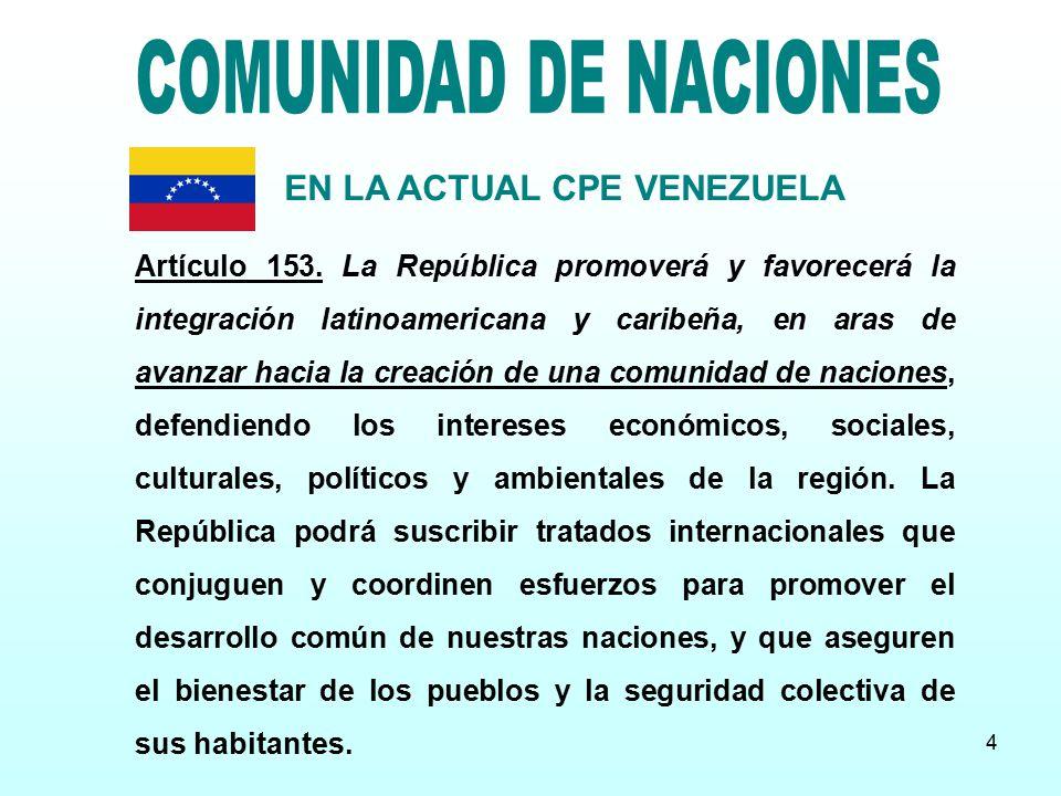 EN LA ACTUAL CPE VENEZUELA