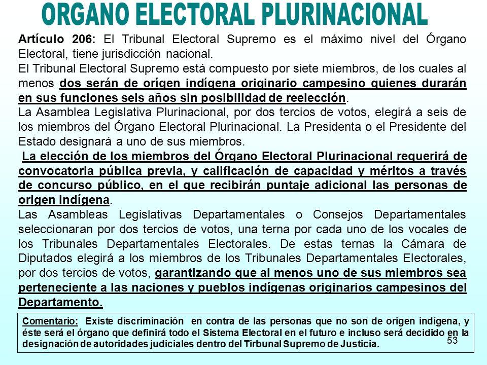 ORGANO ELECTORAL PLURINACIONAL