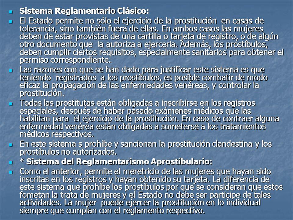 Sistema Reglamentario Clásico: