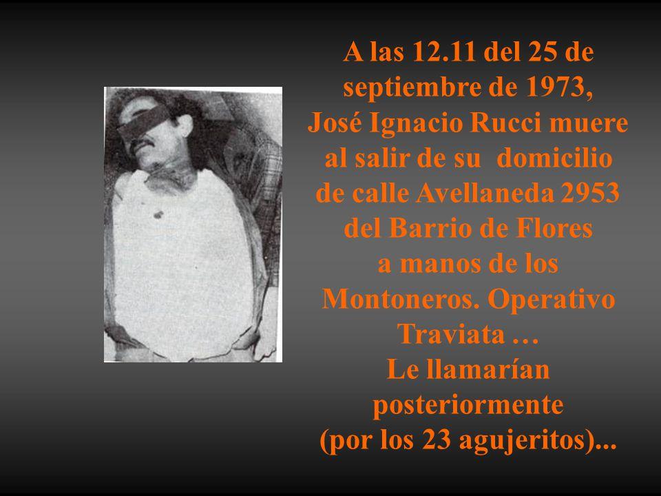 A las 12.11 del 25 de septiembre de 1973,
