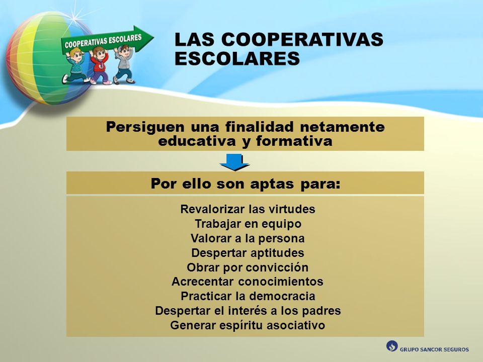 LAS COOPERATIVAS ESCOLARES