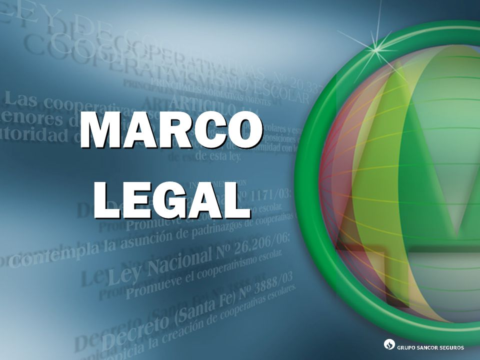 MARCO LEGAL MARCO LEGAL