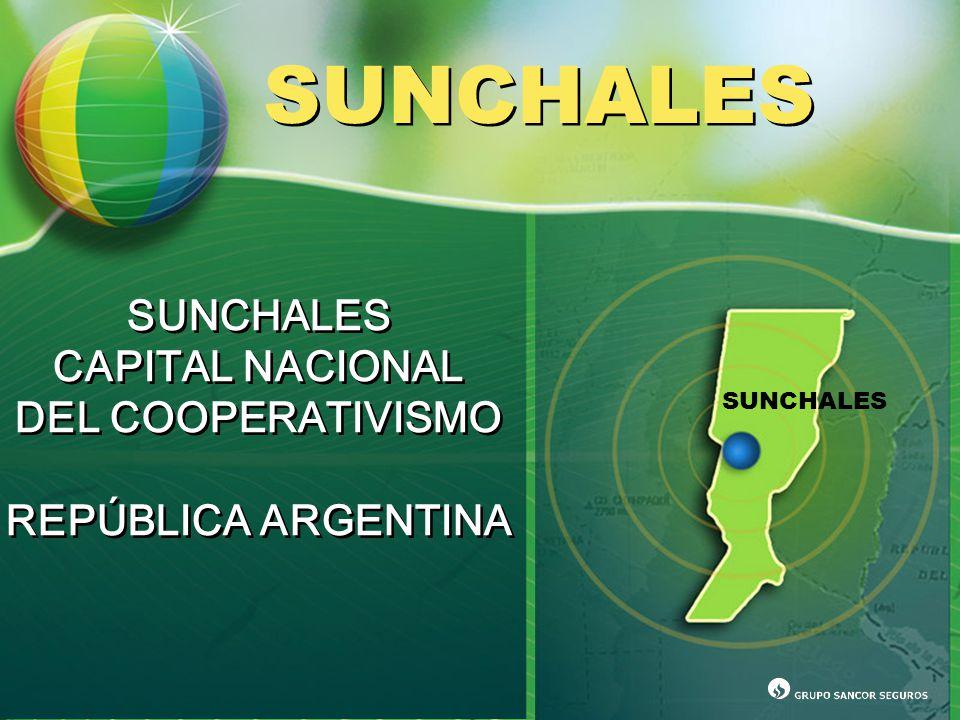 SUNCHALES CAPITAL NACIONAL DEL COOPERATIVISMO REPÚBLICA ARGENTINA