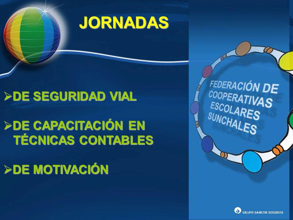 JORNADAS DE SEGURIDAD VIAL DE CAPACITACIÓN EN TÉCNICAS CONTABLES DE MOTIVACIÓN