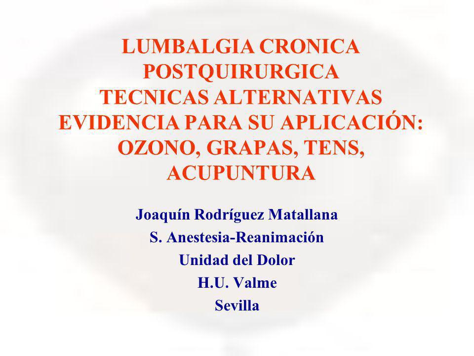 Joaquín Rodríguez Matallana S. Anestesia-Reanimación
