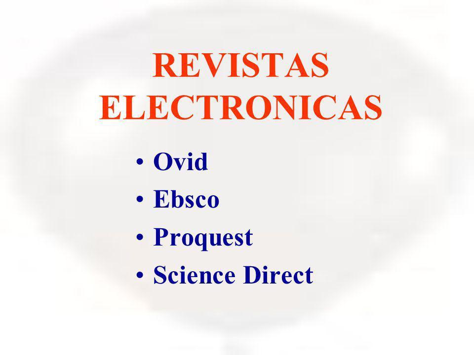 REVISTAS ELECTRONICAS