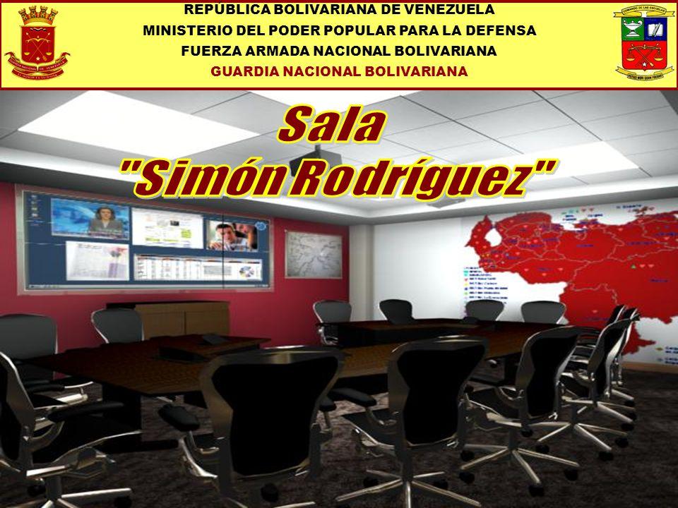 Sala Simón Rodríguez REPÚBLICA BOLIVARIANA DE VENEZUELA