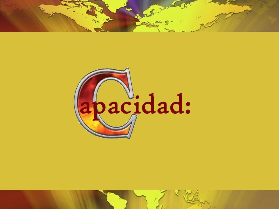 apacidad: