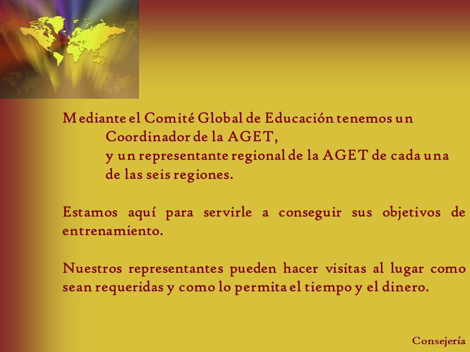 Mediante el Comité Global de Educación tenemos un