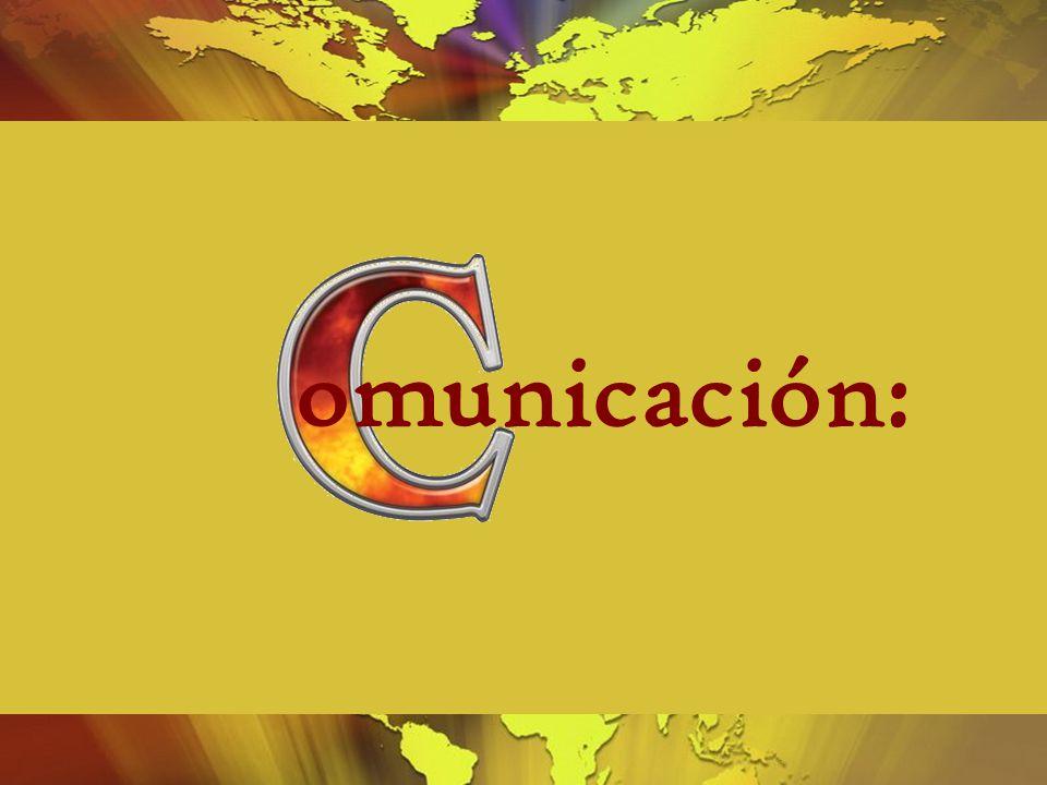 omunicación: