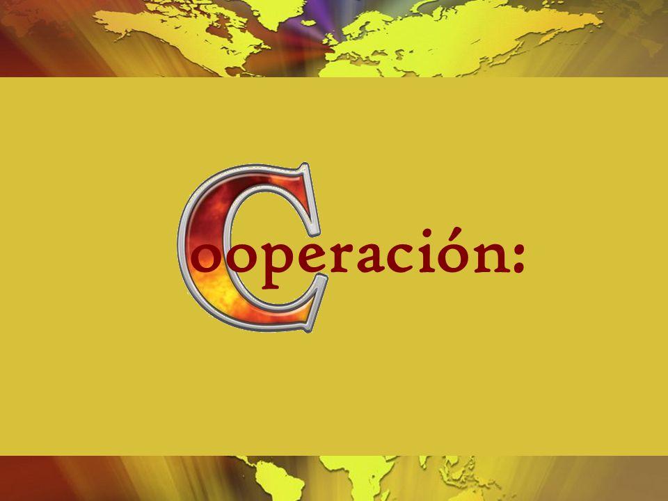 ooperación: