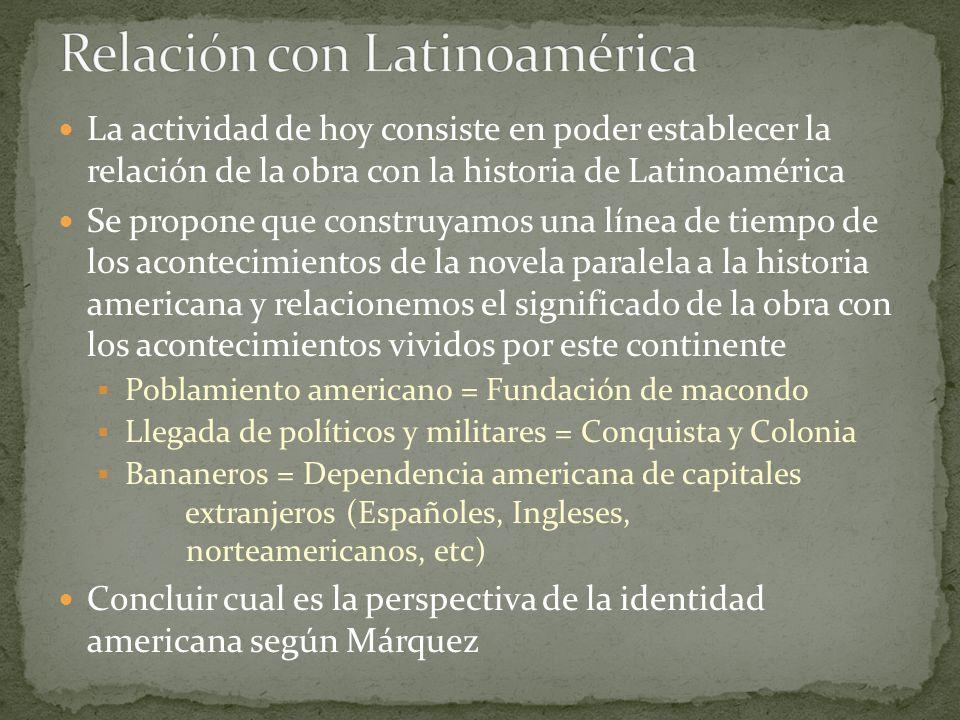 Relación con Latinoamérica