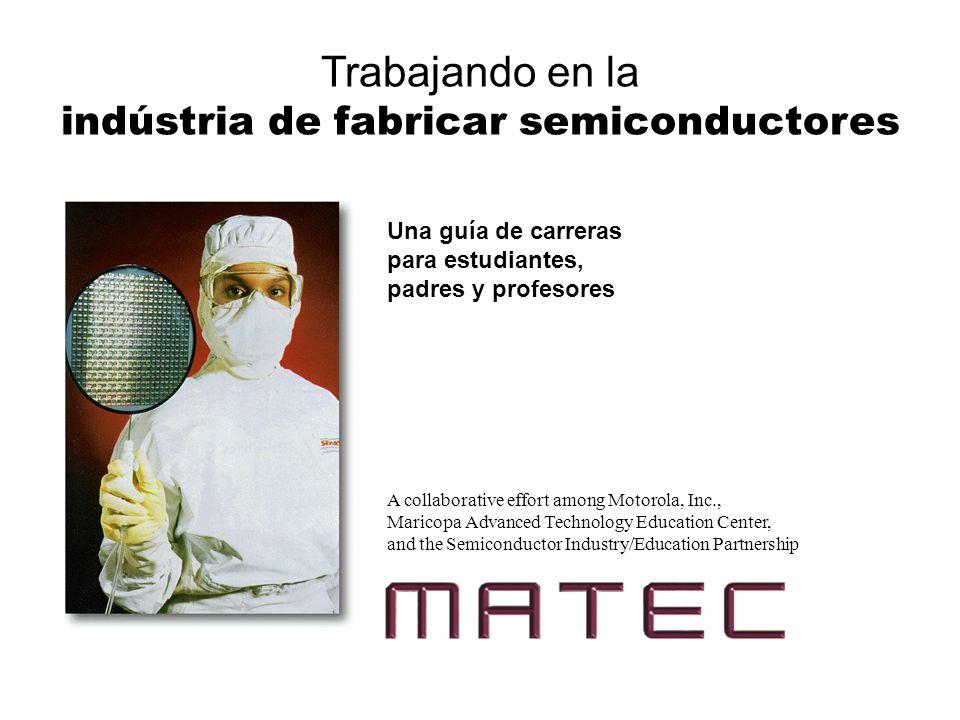 indústria de fabricar semiconductores