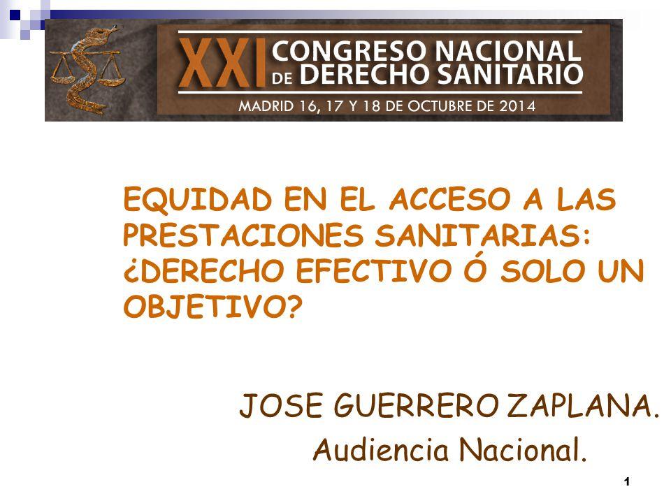 JOSE GUERRERO ZAPLANA. Audiencia Nacional.