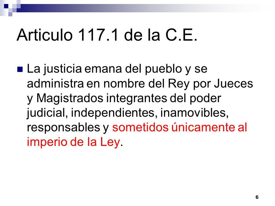 Articulo 117.1 de la C.E.