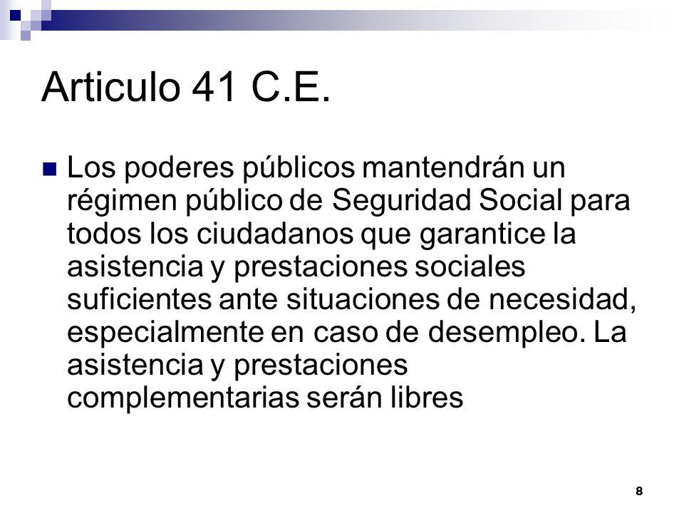Articulo 41 C.E.