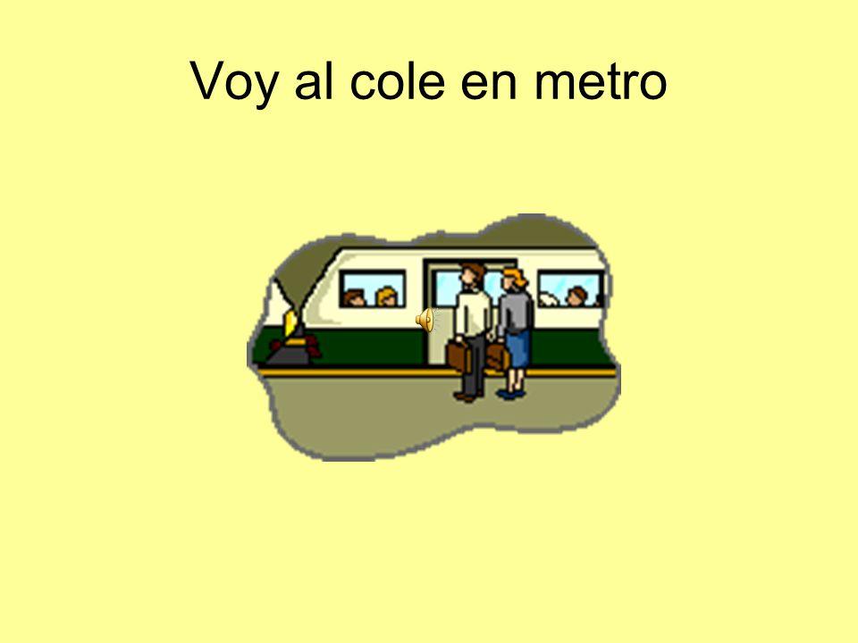 Voy al cole en metro