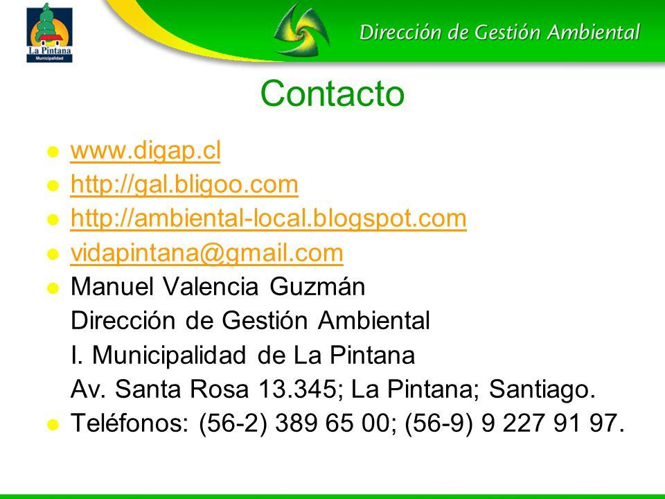 Contacto www.digap.cl http://gal.bligoo.com
