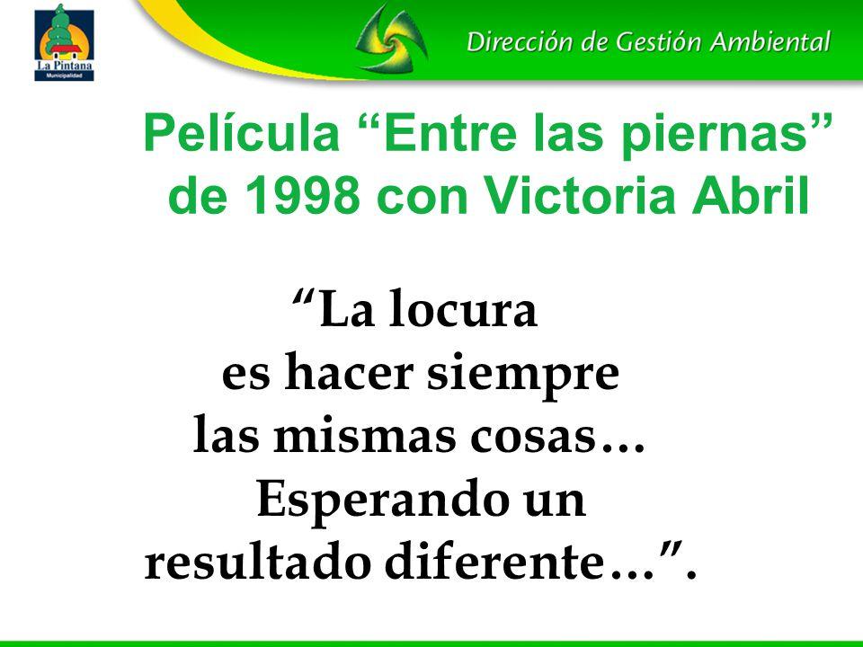 Película Entre las piernas de 1998 con Victoria Abril