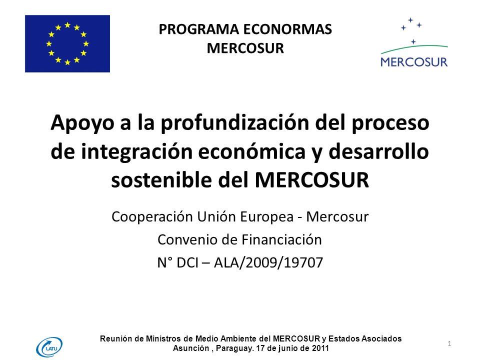 PROGRAMA ECONORMAS MERCOSUR