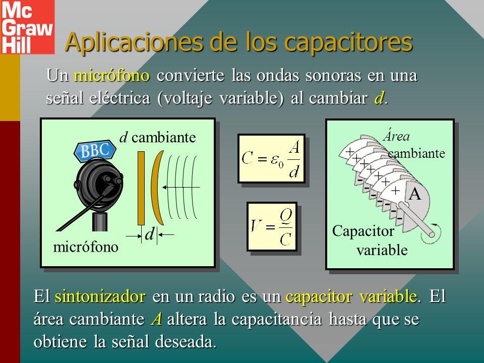 Aplicaciones de los capacitores