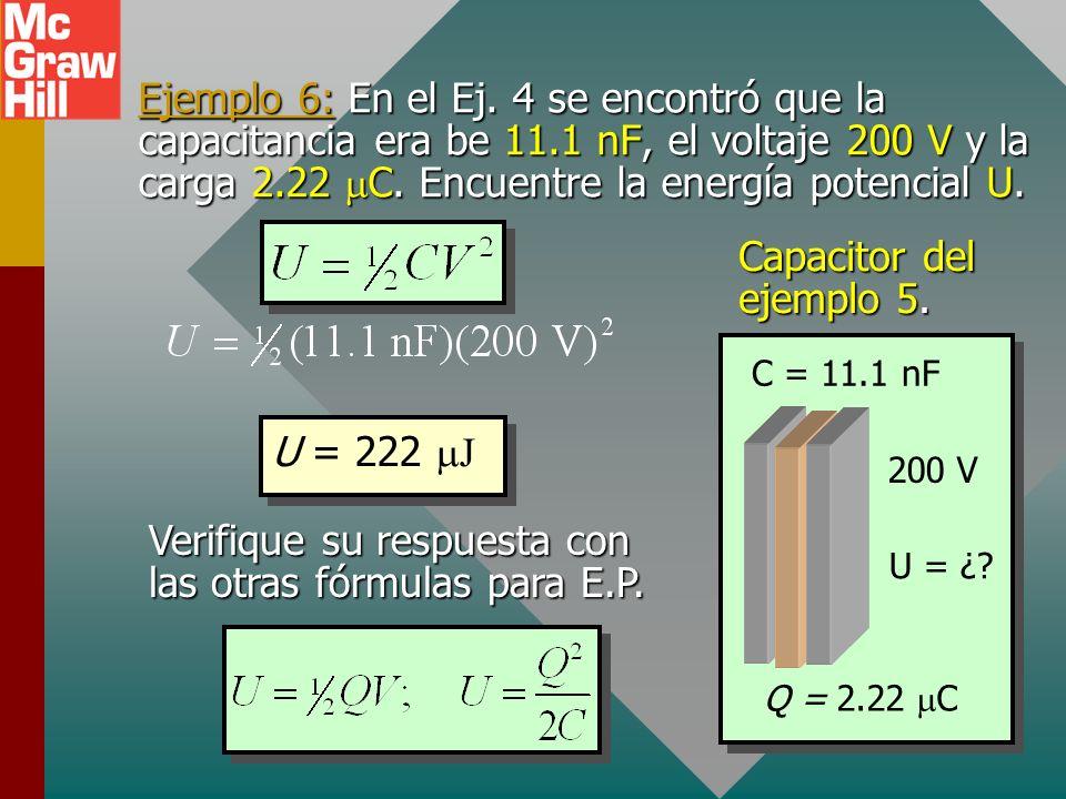 Verifique su respuesta con las otras fórmulas para E.P.