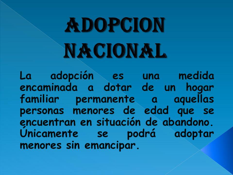 ADOPCION NACIONAL
