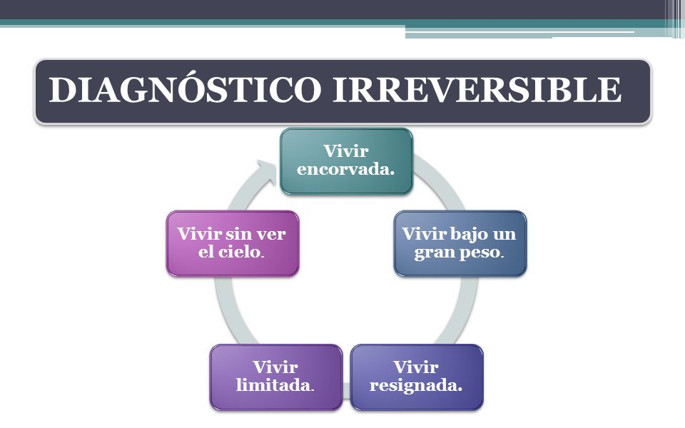 DIAGNÓSTICO IRREVERSIBLE