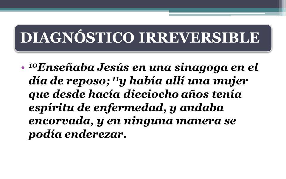 DIAGNÓSTICO IRREVERSIBLE