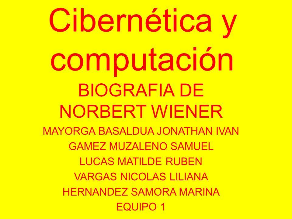 Cibernética y computación