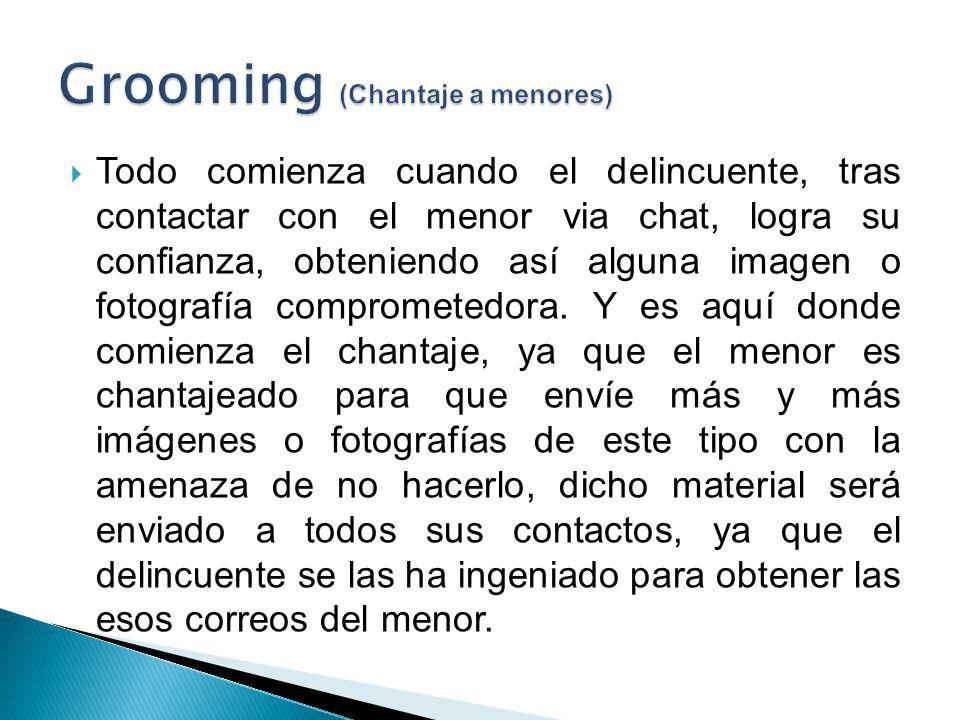 Grooming (Chantaje a menores)