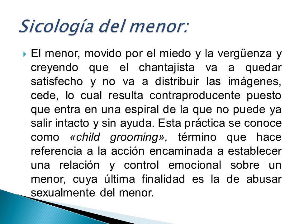 Sicología del menor: